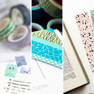 Washi Tape Bookmarks: 3 Ways