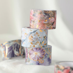Abbey Garden Gilded Washi Tape Set | The Washi Tape Shop. Beautiful Washi and Decorative Tape For Bullet Journals, Gift Wrapping, Planner Decoration and DIY Projects
