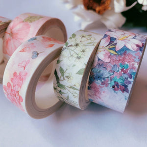 Spring Blossoms Washi Tape Set - The Washi Tape Shop