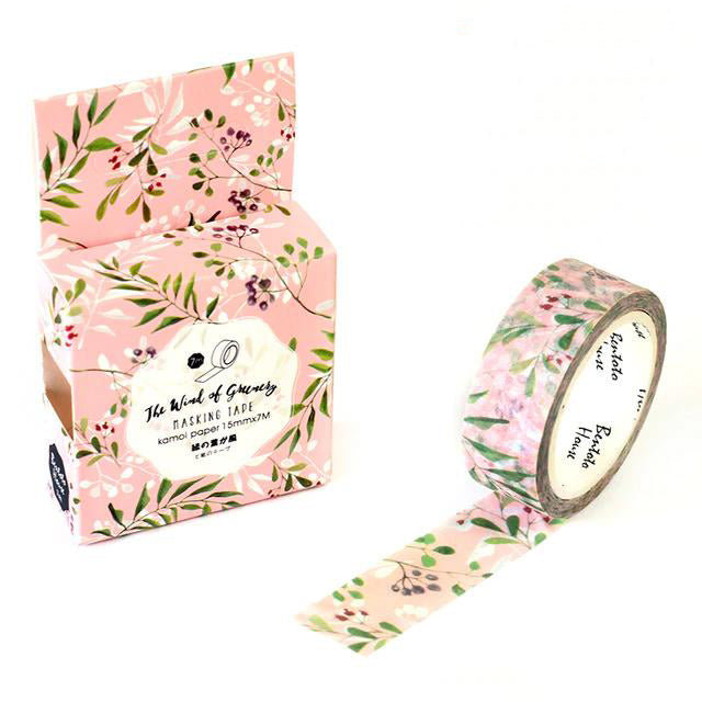 Equinox Flower Washi Tape 15mmx7m | The Washi Tape Shop. Beautiful Washi and Decorative Tape For Bullet Journals, Gift Wrapping, Planner Decoration and DIY Projects