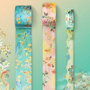 3 Piece Phoenix Reborn Gilded Washi Tape Set | The Washi Tape Shop. Beautiful Washi and Decorative Tape For Bullet Journals, Gift Wrapping, Planner Decoration and DIY Projects