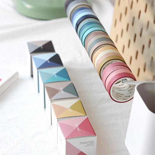 24 Piece Daily Color Washi Tape Set | The Washi Tape Shop. Beautiful Washi and Decorative Tape For Bullet Journals, Gift Wrapping, Planner Decoration and DIY Projects