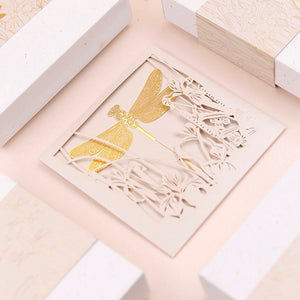 Dragonfly 18K Gold Plated Bookmark | The Washi Tape Shop. Beautiful Washi and Decorative Tape For Bullet Journals, Gift Wrapping, Planner Decoration and DIY Projects