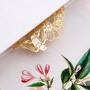 Swallow Tale 18K Gold Plated Bookmark | The Washi Tape Shop. Beautiful Washi and Decorative Tape For Bullet Journals, Gift Wrapping, Planner Decoration and DIY Projects