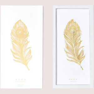Floating Feather 18K Gold Plated Bookmark | The Washi Tape Shop. Beautiful Washi and Decorative Tape For Bullet Journals, Gift Wrapping, Planner Decoration and DIY Projects