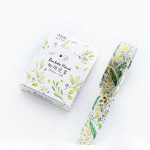 Keichitsu Green Bentoto Washi Tape | The Washi Tape Shop. Beautiful Washi and Decorative Tape For Bullet Journals, Gift Wrapping, Planner Decoration and DIY Projects