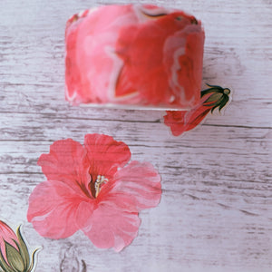 Pink Piquant Washi Flower Petal Set | The Washi Tape Shop. Beautiful Washi and Decorative Tape For Bullet Journals, Gift Wrapping, Planner Decoration and DIY Projects