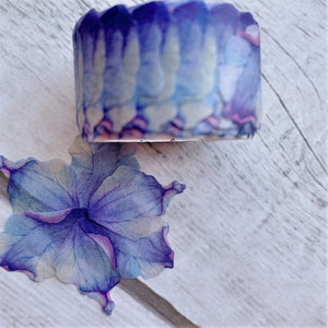 Violet Valentine Washi Flower Petal Set | The Washi Tape Shop. Beautiful Washi and Decorative Tape For Bullet Journals, Gift Wrapping, Planner Decoration and DIY Projects
