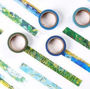 Irises Flower Washi Tape 15mmx7m | The Washi Tape Shop. Beautiful Washi and Decorative Tape For Bullet Journals, Gift Wrapping, Planner Decoration and DIY Projects