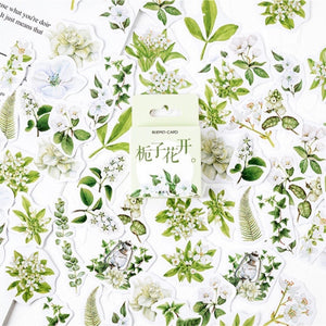 Creative Floral Planner Sticker 46 Piece Set | The Washi Tape Shop. Beautiful Washi and Decorative Tape For Bullet Journals, Gift Wrapping, Planner Decoration and DIY Projects