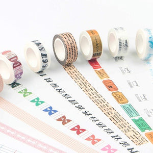 Sky Castle Washi Tape 15mmx7m | The Washi Tape Shop. Beautiful Washi and Decorative Tape For Bullet Journals, Gift Wrapping, Planner Decoration and DIY Projects