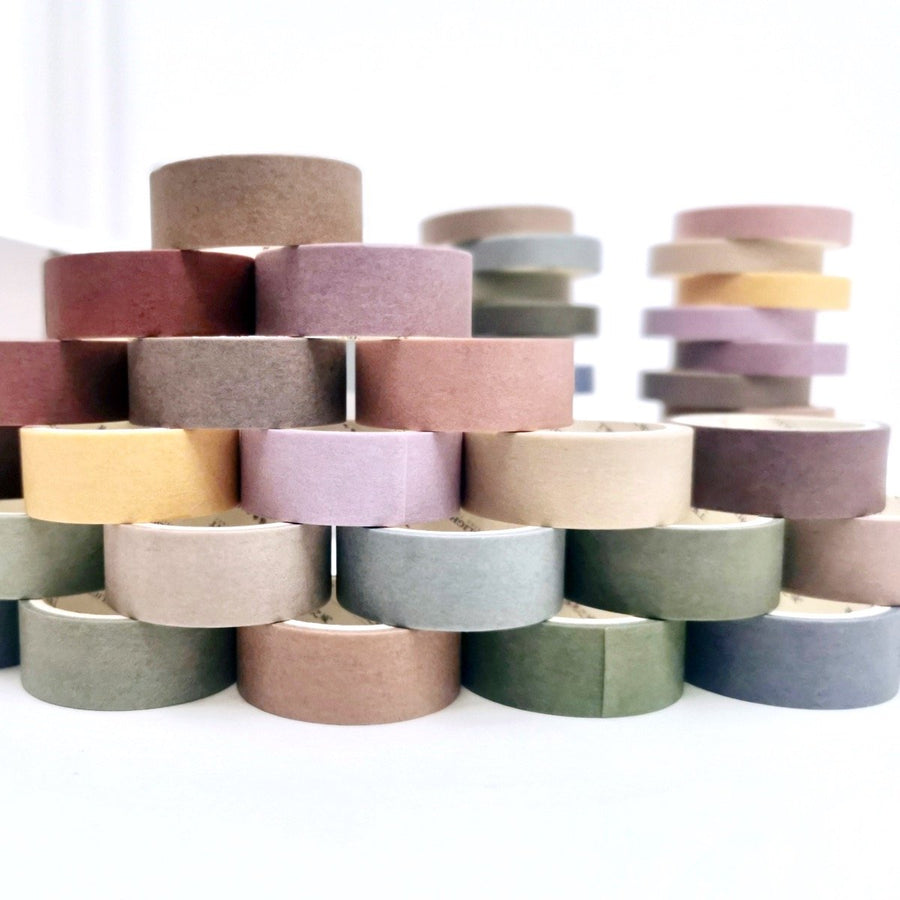 Retro Nostalgia Washi Tape Set | The Washi Tape Shop. Beautiful Washi and Decorative Tape For Bullet Journals, Gift Wrapping, Planner Decoration and DIY Projects
