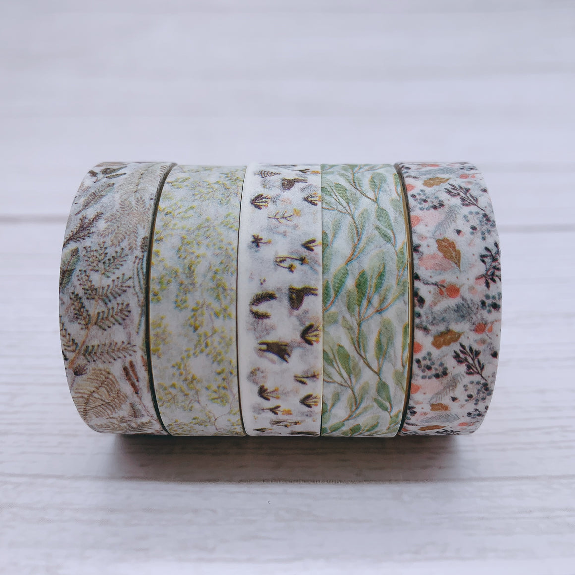 5 Piece Osamu Washi Tape Set | The Washi Tape Shop. Beautiful Washi and Decorative Tape For Bullet Journals, Gift Wrapping, Planner Decoration and DIY Projects