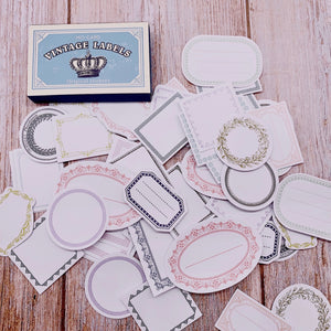 60 Piece Vintage Royal Stickers | The Washi Tape Shop. Beautiful Washi and Decorative Tape For Bullet Journals, Gift Wrapping, Planner Decoration and DIY Projects