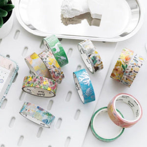 Sakura Silver Foil Wash Tape | The Washi Tape Shop. Beautiful Washi and Decorative Tape For Bullet Journals, Gift Wrapping, Planner Decoration and DIY Projects