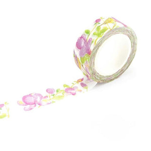 Magnolia Flower Washi Tape 15mmx7m - The Washi Tape Shop