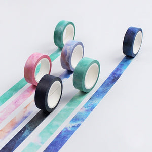 Comet Galaxy Washi Tape 15mmx7m | The Washi Tape Shop. Beautiful Washi and Decorative Tape For Bullet Journals, Gift Wrapping, Planner Decoration and DIY Projects