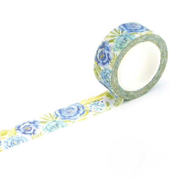 Glass Flower Washi Tape 15mmx7m - The Washi Tape Shop