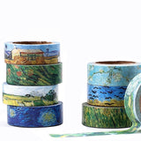 Sunset Sowers Washi Tape 15mmx7m | The Washi Tape Shop. Beautiful Washi and Decorative Tape For Bullet Journals, Gift Wrapping, Planner Decoration and DIY Projects