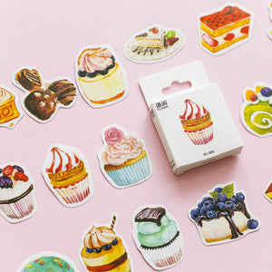 50 Piece Sweet Tooth Planner Stickers | The Washi Tape Shop. Beautiful Washi and Decorative Tape For Bullet Journals, Gift Wrapping, Planner Decoration and DIY Projects