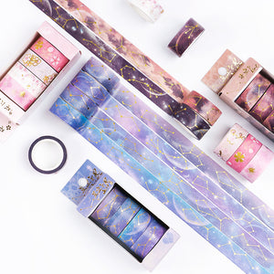 4 Piece Galaxy Foil Washi Tape Set | The Washi Tape Shop. Beautiful Washi and Decorative Tape For Bullet Journals, Gift Wrapping, Planner Decoration and DIY Projects