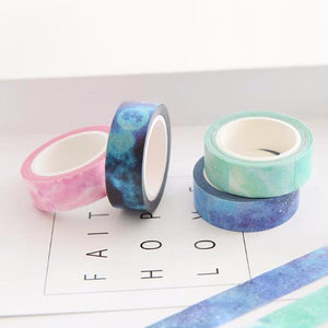 7 Piece Set Galaxy Washi Tape Set | The Washi Tape Shop. Beautiful Washi and Decorative Tape For Bullet Journals, Gift Wrapping, Planner Decoration and DIY Projects