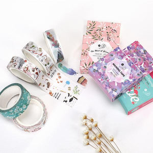 Season's Passing Washi Tape 15mmx7m | The Washi Tape Shop. Beautiful Washi and Decorative Tape For Bullet Journals, Gift Wrapping, Planner Decoration and DIY Projects