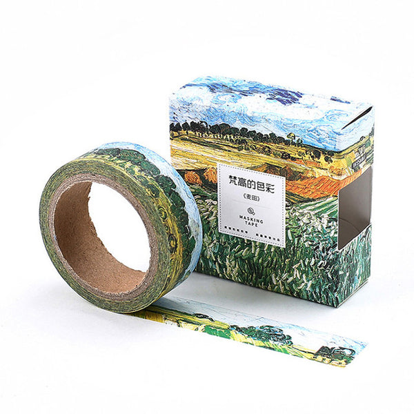 Wheat Field Washi Tape 15mmx7m - The Washi Tape Shop. Beautiful Decorative Tape For Bullet Journals Gift Wrapping Planner Decoration DIY Projects