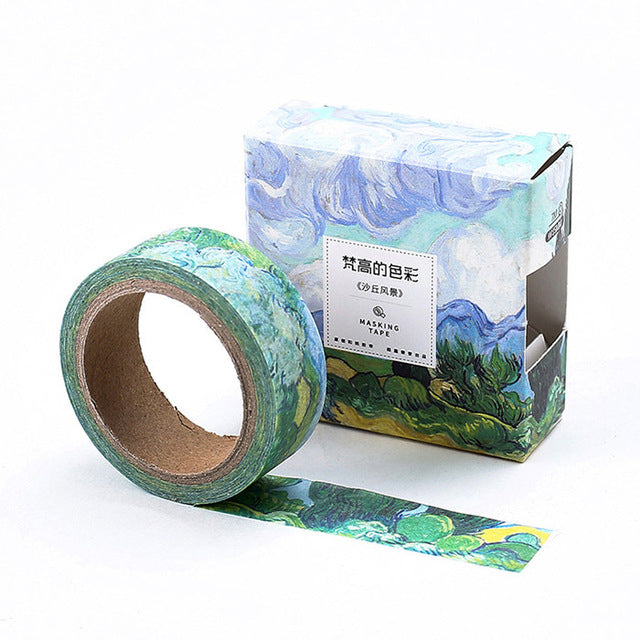 Dune Storm Washi Tape 15mmx7m | The Washi Tape Shop. Beautiful Washi and Decorative Tape For Bullet Journals, Gift Wrapping, Planner Decoration and DIY Projects
