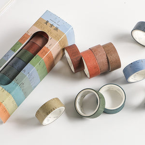 10 Piece Vintage Color Washi Tape Set - The Washi Tape Shop