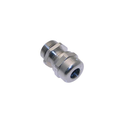 .375-NPT, Metal Gland, Nickel Plated Brass, 0.157 - 0.315