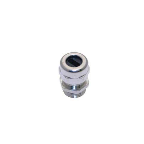 .5-NPT, Festoon Gland, Nickel Plated Brass, 0.195 - 0.468