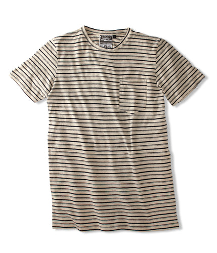 Double Stripe Tee - Jungmaven