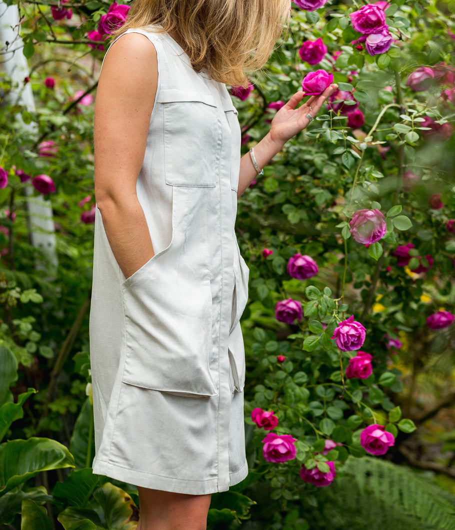 Flaxible Linen Dress - NAU