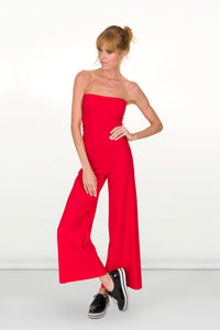 Sanya Jumpsuit / Roll-top Trouser