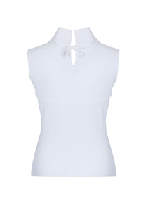 Alexa High Neck Sleeveless Top