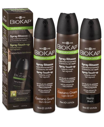 OUTLET - BIOKAP - SPRAY DE RETOQUE INSTANTANEO - ebeauty mexico