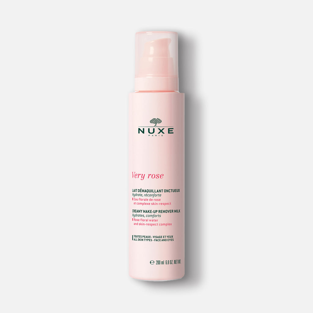 NUXE - Very Rose - Leche Desmaquillante 200 ml - ebeauty mexico