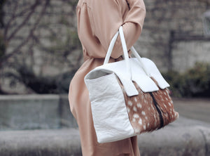 "Classic ""Bambi"" oversize size tote bag"