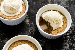 Maple-Whiskey Pudding Cakes