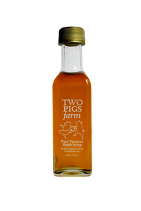 Two Pigs Farm Grade A, Amber Maple Syrup 100 mL Bottle