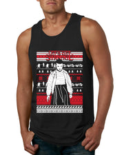 Let's Get Strange  | Mens Ugly Christmas Fashion Graphic Tank Top