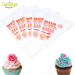 100 pcs / set pocket plastic plaque for cream and pastry