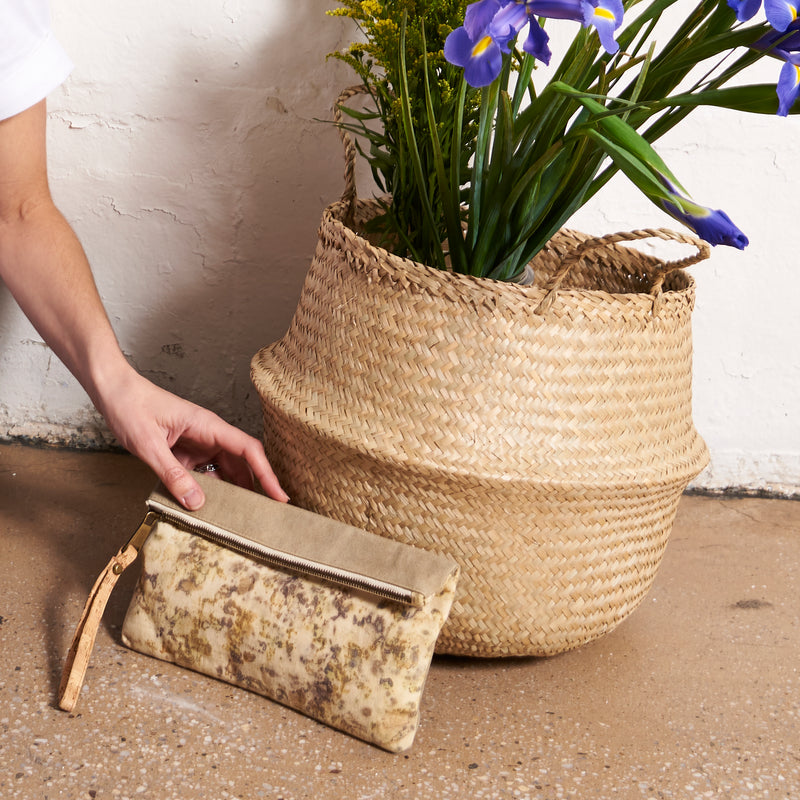 Atlantic Wristlet // Leaves Imprint