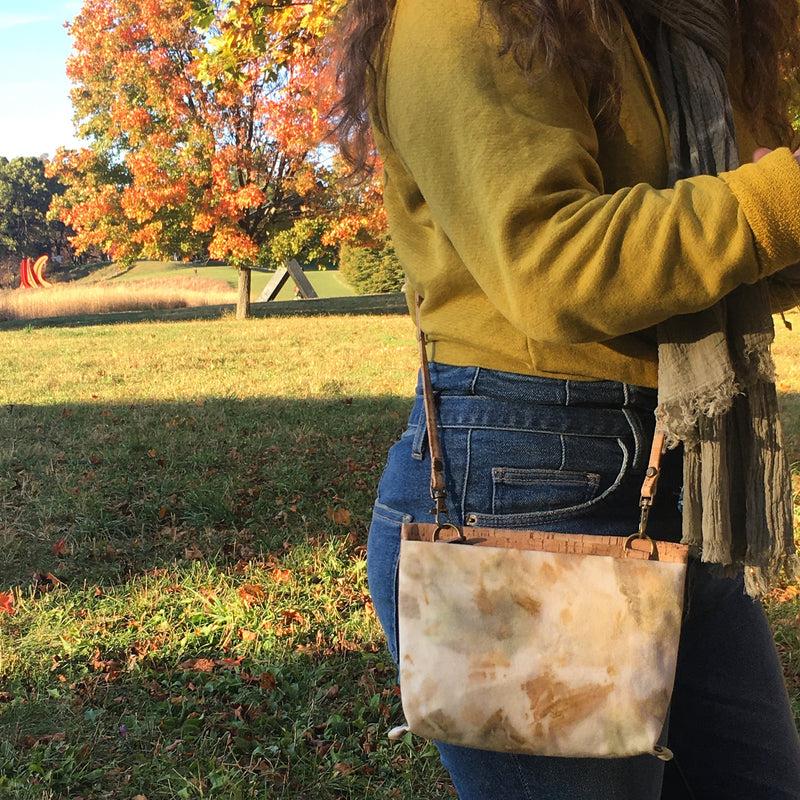 Passport Crossbody // Eucalyptus Marble