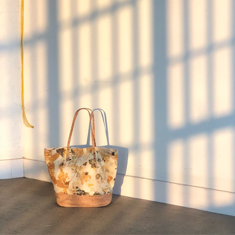 Sunrise Tote // Leaves Imprint
