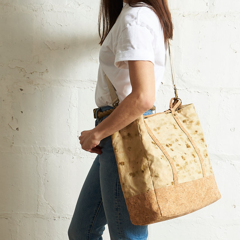 Transit Tote // Olive Marble