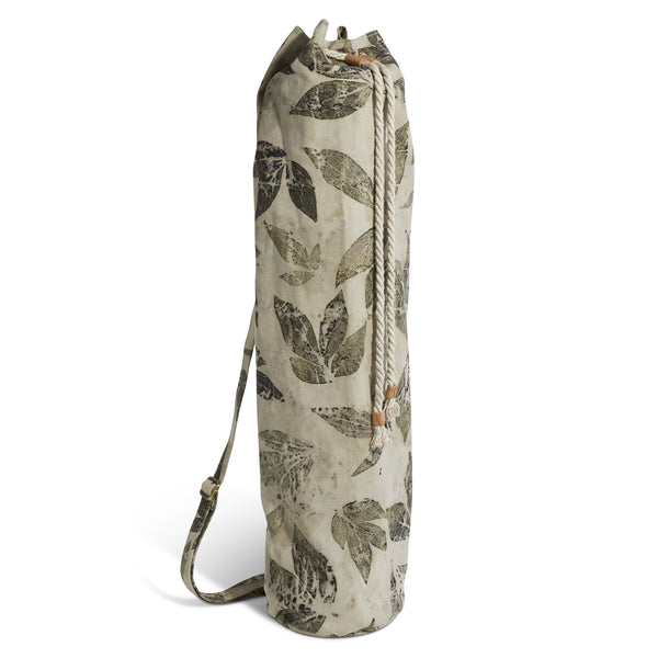 Vinyasa Mat Bag // Leaves Imprint