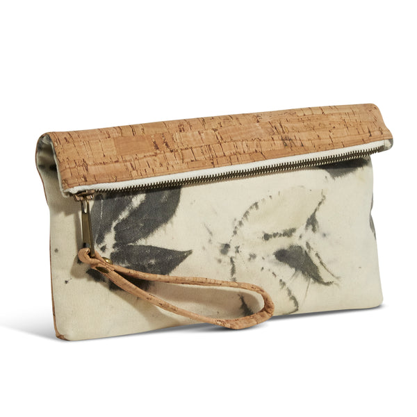 Atlantic Wristlet // Leaves Imprint + Cork