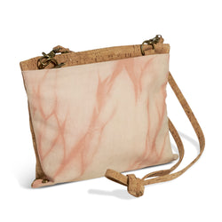 Passport Crossbody // Madder Shibori